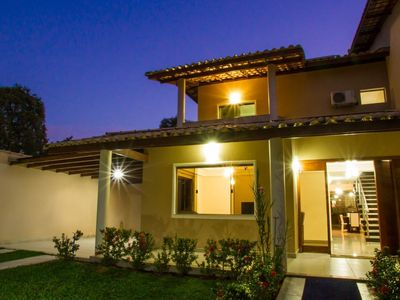 Photo for House with 4 bedrooms, pool and gourmet area 500m from the beach