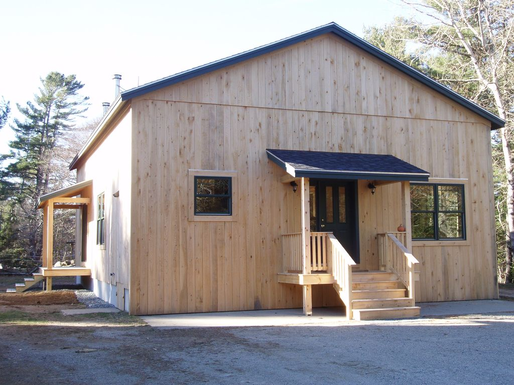 Private Red Dog Cottage On Hamiltons HomeAway Bar Harbor - And architectural cottages on secluded private pond homeaway