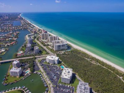 Photo for **Walk to the Beach and Enjoy Nightly Sunsets from this 5th Floor Condo!**