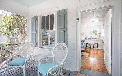 Photo for Stay with Lucky Savannah: Bright and Chic Beachside Tybee Island Cottage