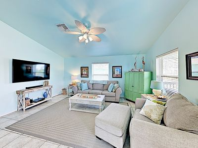 Photo for New Listing! 2BR Coastal Gem on Stilts w/ Deck & Grill, Near Pier & Beach