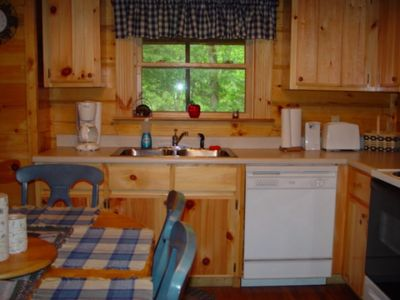 Photo for Hilltop Haven Cabin: Mountain Log Cabin With Hot Tub