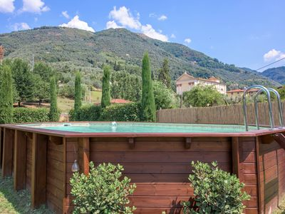 Photo for Villa Camaiore 4 double bedrooms - garden - swimming pool - Air Con - Wifi.