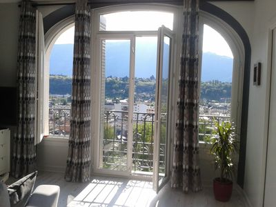 Photo for Very beautiful apartment with stunning views & pool in residence