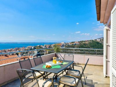 Photo for Holiday apartment Crikvenica for 2 - 6 persons with 3 bedrooms - Holiday apartment