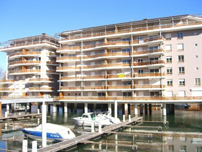 Photo for 3 bedroom penthouse apartment near Cannes in the South of France - Huge terrace