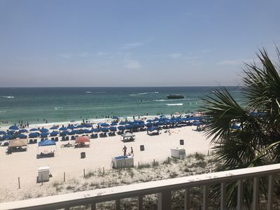 Photo for Enjoy amazing ocean views in this 3rd floor condo with same level parking.