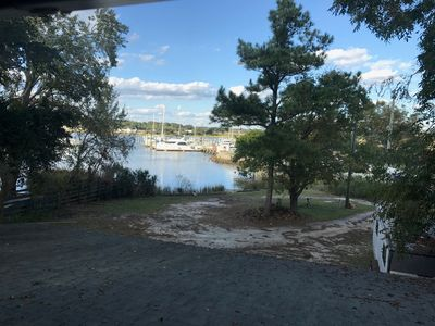 Photo for Annual Rental space with Gorgeous water views. Plenty of parking. Private deck