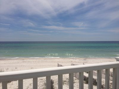 Photo for Beautiful Oceanfront on the Beach near Rosemary  Beach