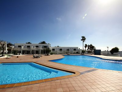 Photo for Apartment Las Salinas in Puerto del Carmen with sea view and shared pool