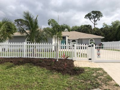 Photo for Serene Location, 2 King Beds, Heated Salt Water Pool, Pets, Close to Beaches