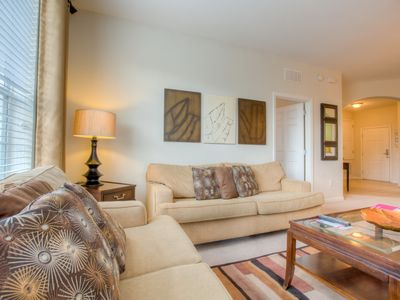 Photo for Quaint and quiet, the perfect Orlando getaway awaits in this luxurious unit.