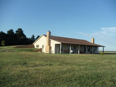 Photo for South 40 Lodge: Central Ks Lodging With Amazing Views & Sounds Of The Country