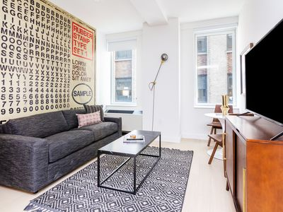 Photo for Sonder | Wall Street | Lively 1BR + Kitchen