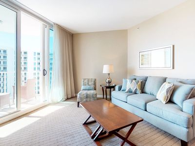 Photo for COASTAL, OPEN CONCEPT condo! Visit the community LAGOON POOL, PLAYGROUND, & more
