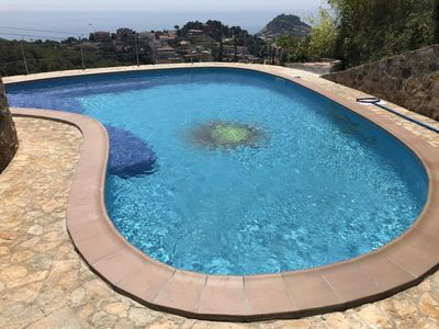 Photo for This 3-bedroom villa for up to 8 guests is located in Tossa De Mar and has a private swimming pool a