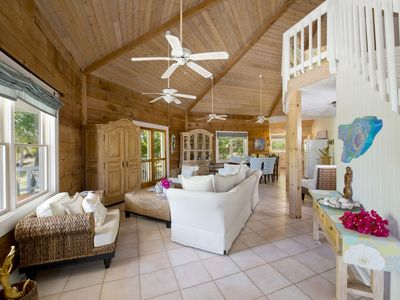 Photo for Tropical Beach Villa with Guest Cottage, Steps from Beach