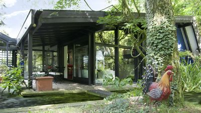 Photo for Blue house in the nature park Schwalm-Nette, rest and relaxation in a romantic nature.