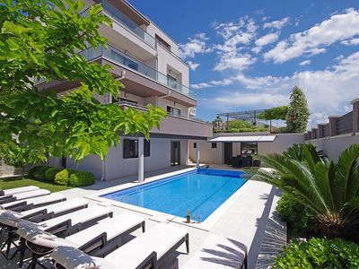 Photo for Luxury Villa Lucas with heated pool, whirlpool, sauna, 20m from beach