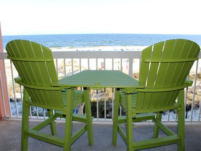 Photo for Gulf Front with a beautiful view at Harbour Place in west Orange Beach