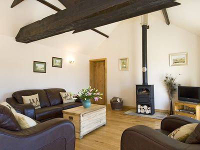 Photo for A luxury self catering holiday cottage with its own pool, hot tub and sauna