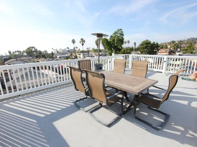 Photo for Sun & Sea San Diego Dreams; Oceanview with Rooftop Deck; 2 Blocks to the Beach