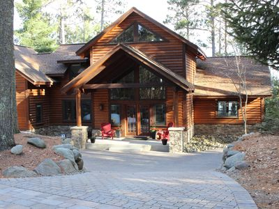 Photo for Beautiful Lake Home and Guest House on Whitefish Chain (Big Trout)