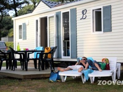 Photo for Camping Domaine d'Inly **** - Mobile home 4 Rooms 6 People