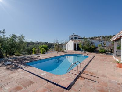 Photo for Spacious Holiday Apartment Sol y Mar with Mountain View, Wi-Fi, Terraces, Shared Garden & Shared Pool; Parking Available