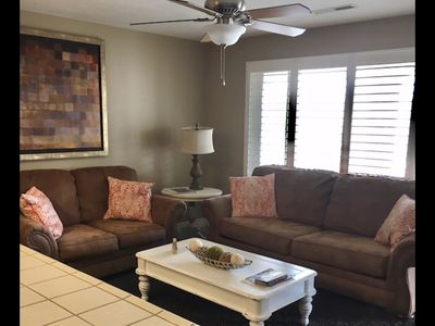 Photo for Extra large one bedroom with access to the Las palmas Resort  pools.