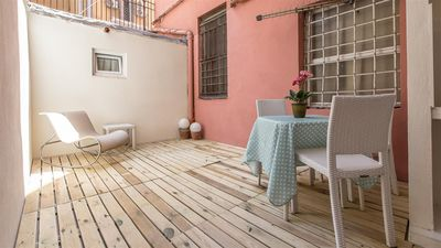 Photo for Enjoy 2190 apartment in Termini Stazione with air conditioning & private terrace.