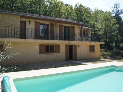 Photo for Nice view, quiet location, swimming pool with shelter, 5 miles from Castles