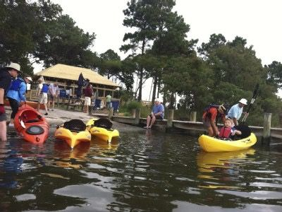 Kayaking at the Point is part of the Amenities
