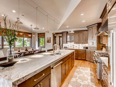 Photo for Luxurious Peak 8 Home with Impressive Amenities Including Sauna and Hot Tub!