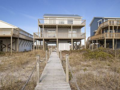 Photo for Whale Wind: 3 BR / 3 BA house in North Topsail Beach, Sleeps 8