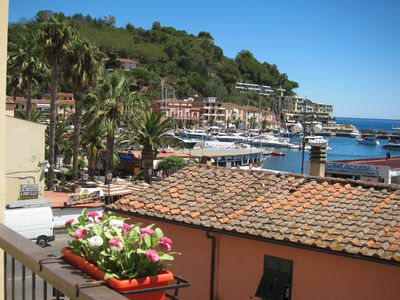 Photo for View of the bay of Porto Azzurro, 50 meters from the beach