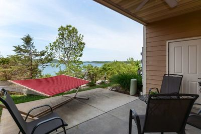 Step out onto the patio and enjoy the views of Table Rock Lake.
