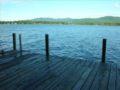 View from the dock at Westview
