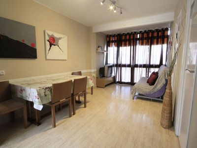 Photo for Platja de Gandia Apartment, Sleeps 4 with Air Con and WiFi