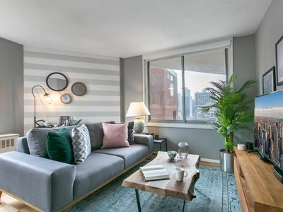 Photo for Spacious Midtown East 1BR, Balcony, Doorman + Gym by Blueground