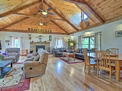 Photo for Taylorsville House on 50 Private Acres w/ 6 Cabins