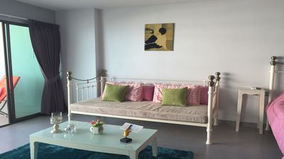 Photo for Furnished studio vacation beachfront in pattay