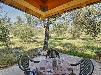 Photo for Villino Aracea A: A graceful cottage surrounded by vineyards and olive groves, with Free WI-FI.