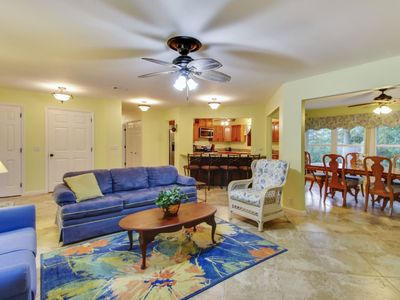 Photo for This 3 bedroom, 2 bathroom home in Singleton Beach is the epitome of Lowcountry living, less than 5