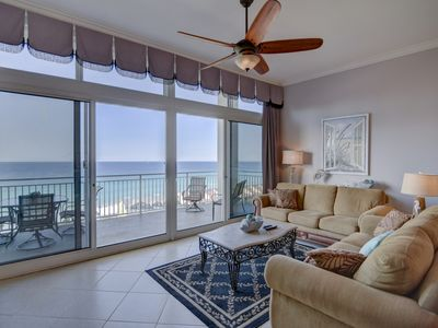 Photo for Beautiful family friendly penthouse condo w/ private balcony and shared pool