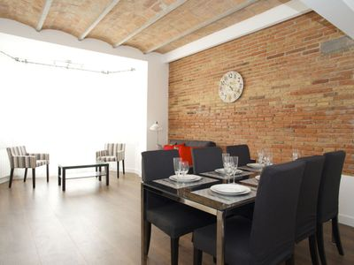 Photo for Apartment 1.1 km from the center of Barcelona with Internet, Air conditioning, Lift (992221)