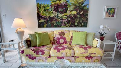 Enjoy comfortable seating for you and your guests