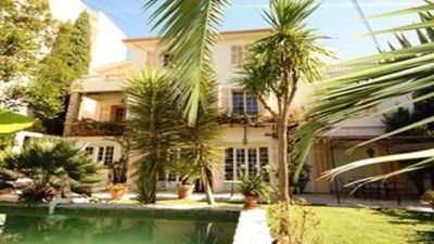 Photo for Charming T2 in villa 200 meters from the beaches and the pine forest in peace with