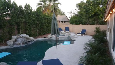 Photo for HEATED POOL AND SPA, NO EXTRA COST FOR GAS USAGE...