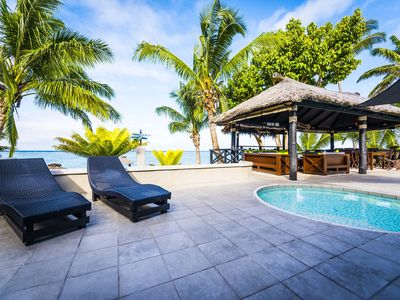 Photo for CORAL PALMS EXCLUSIVE BEACHFRONT PRIVATE VILLA